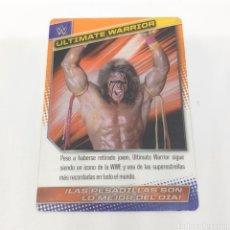 Coleccionismo deportivo: (C-25) CARTA WWE 2015 DE PANINI. N°165 ULTIMATE WARRIOR. Lote 186190091