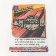 Coleccionismo deportivo: (C-25) CARTA WWE 2015 DE PANINI. N°150 UNITED STATES CHAMPIONSHIP. Lote 186190332