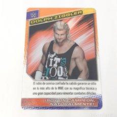 Coleccionismo deportivo: (C-25) CARTA WWE 2015 DE PANINI. N°034 DOLPH ZIGGLER. Lote 186190401
