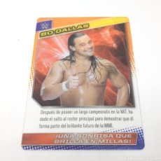Coleccionismo deportivo: (C-25) CARTA WWE 2015 DE PANINI. N°078 BI DALLAS. Lote 186190528