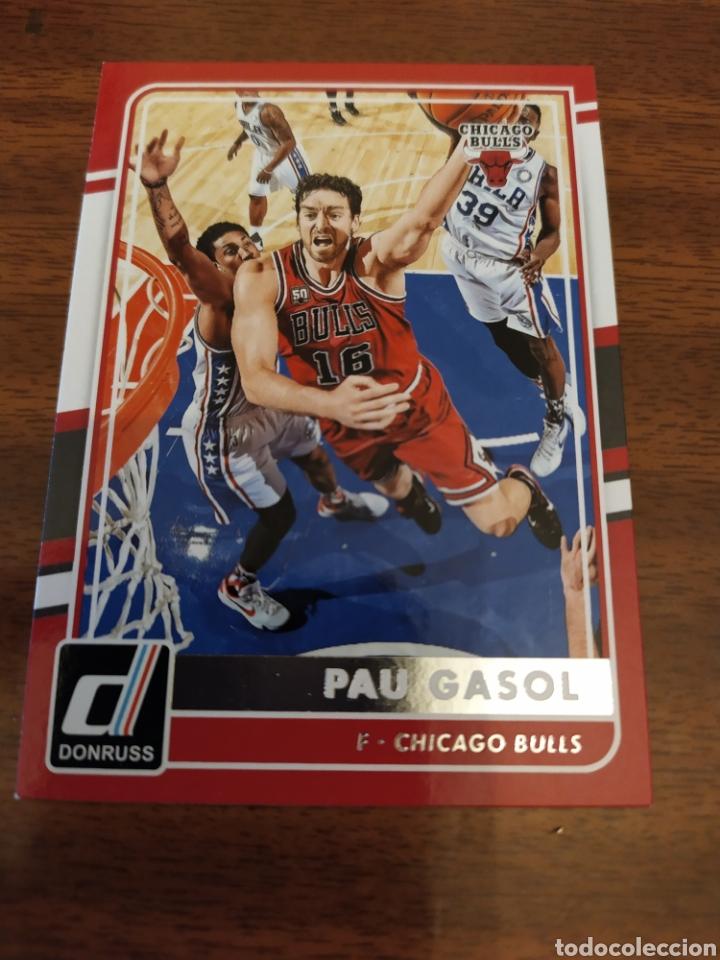 2015-16 PANINI DONRUSS Basket Cox #44 Pau Gasol