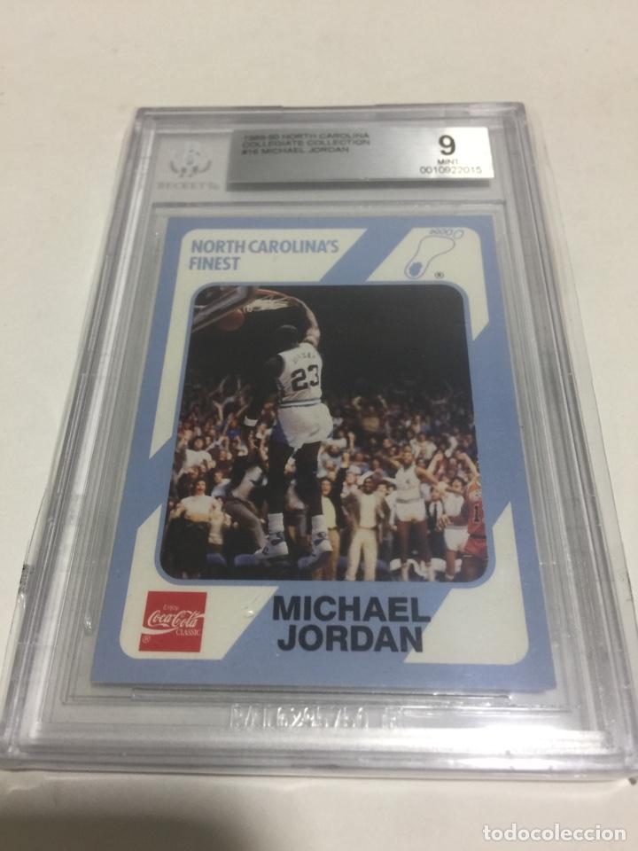 DC - 1989 MICHAEL JORDAN N 16 BECKETT 9 (Coleccionismo Deportivo - Cromos otros Deportes)