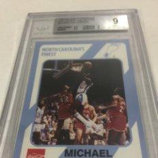 Coleccionismo deportivo: DC- 1989 MICHAEL JORDAN N 13 BECKETT 9. Lote 189729425