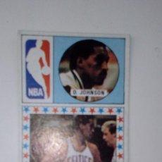 Coleccionismo deportivo: CROMO DE BALONCESTO D.JOHNSON DE 1986 CARD MERCHANTE SIN PEGAR. Lote 189786646