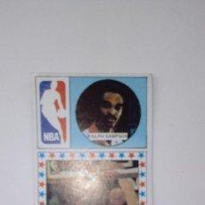 Coleccionismo deportivo: CROMO DE BALONCESTO RALPH SAMSON CARD MERCHANTE AÑO 1986 SIN PEGAR. Lote 189787166