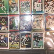 Coleccionismo deportivo: NFL EAGLES RANDALL CUNNINGHAM LOTE TRADING CARDS AÑOS 80. Lote 191751277