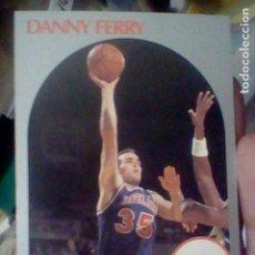 Coleccionismo deportivo: DANY FERRY CAVS Nº 406 NBA 1990 HOOPS CROMO DETERIORADO LEER 9 X 6,5 CMS. Lote 191927266