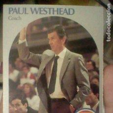 Coleccionismo deportivo: PAUL WESTHEAD DENVER Nº 422 NBA 1990 HOOPS CROMO DETERIORADO LEER 9 X 6,5 CMS. Lote 191927497