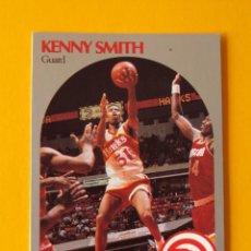 Coleccionismo deportivo: KENNY SMITH 33 NBA HOOPS 90 1990 1990-91 90-91 91 ATLANTA HAWKS TRADING CARD. Lote 192024980
