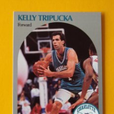 Coleccionismo deportivo: KELLY TRIPUCKA 59 NBA HOOPS 90 1990 1990-91 90-91 91 CHARLOTTE HORNETS TRADING CARD. Lote 192025083
