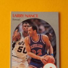Coleccionismo deportivo: LARRY NANCE 78 NBA HOOPS 90 1990 1990-91 90-91 91 CLEVELAND CAVALIERS CAVS TRADING CARD. Lote 192033253