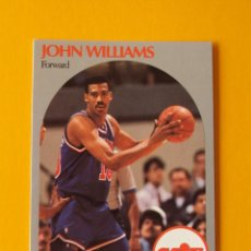 Coleccionismo deportivo: JOHN WILLIAMS 80 NBA HOOPS 90 1990 1990-91 90-91 91 CLEVELAND CAVALIERS CAVS TRADING CARD. Lote 192033392