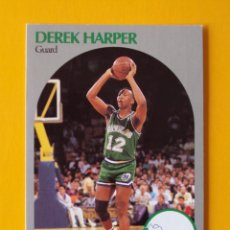Coleccionismo deportivo: DEREK HARPER 86 NBA HOOPS 90 1990 1990-91 90-91 91 DALLAS MAVERICKS TRADING CARD. Lote 192033623