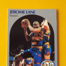Coleccionismo deportivo: JEROME LANE 96 NBA HOOPS 90 1990 1990-91 90-91 91 DENVER NUGGETS TRADING CARD. Lote 192034256