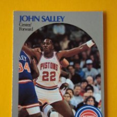 Coleccionismo deportivo: JOHN SALLEY 110 NBA HOOPS 90 1990 1990-91 90-91 91 DETROIT PISTONS TRADING CARD. Lote 192034998