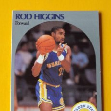 Coleccionismo deportivo: ROD HIGGINS 114 NBA HOOPS 90 1990 1990-91 90-91 91 GOLDEN STATE WARRIORS TRADING CARD. Lote 192039842