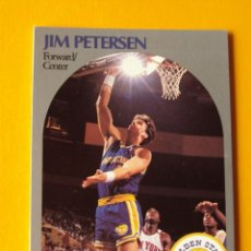 Coleccionismo deportivo: JIM PETERSEN 117 NBA HOOPS 90 1990 1990-91 90-91 91 GOLDEN STATE WARRIORS TRADING CARD. Lote 192039967