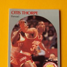 Coleccionismo deportivo: OTIS THORPE 129 NBA HOOPS 90 1990 1990-91 90-91 91 HOUSTON ROCKETS TRADING CARD. Lote 192041121