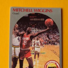 Coleccionismo deportivo: MITCHELL WIGGINS 130 NBA HOOPS 90 1990 1990-91 90-91 91 HOUSTON ROCKETS TRADING CARD. Lote 192041283