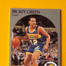 Coleccionismo deportivo: RICKEY GREEN 134 NBA HOOPS 90 1990 1990-91 90-91 91 INDIANA PACERS TRADING CARD. Lote 192041711