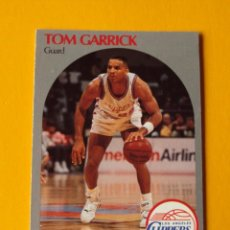 Coleccionismo deportivo: TOM GARRICK 144 NBA HOOPS 90 1990 1990-91 90-91 91 LOS ANGELES CLIPPERS TRADING CARD. Lote 192042468