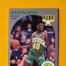 Coleccionismo deportivo: SHAWN KEMP 279 NBA HOOPS 90 1990 1990-91 90-91 91 SEATTLE SUPERSONICS TRADING CARD. Lote 192056516