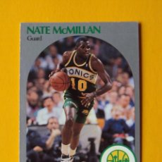 Coleccionismo deportivo: NATE MCMILLAN 282 NBA HOOPS 90 1990 1990-91 90-91 91 SEATTLE SUPERSONICS TRADING CARD. Lote 192145001