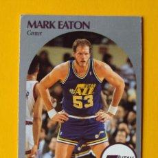 Coleccionismo deportivo: MARK EATON 287 NBA HOOPS 90 1990 1990-91 90-91 91 UTAH JAZZ TRADING CARD. Lote 192145387