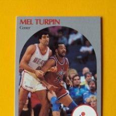 Coleccionismo deportivo: MEL TURPIN 302 NBA HOOPS 90 1990 1990-91 90-91 91 WASHINGTON BULLETS TRADING CARD. Lote 192145748