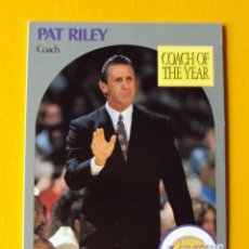 Coleccionismo deportivo: PAT RILEY 317 NBA HOOPS 90 1990 1990-91 90-91 91 COACH LOS ANGELES LAKERS TRADING CARD. Lote 192189807