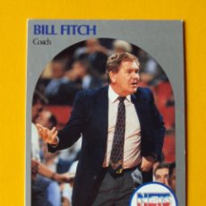 Coleccionismo deportivo: BILL FITCH 321 NBA HOOPS 90 1990 1990-91 90-91 91 COACH NEW JERSEY NETS TRADING CARD. Lote 192190346