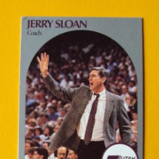 Coleccionismo deportivo: JERRY SLOAN 330 NBA HOOPS 90 1990 1990-91 90-91 91 COACH UTAH JAZZ TRADING CARD. Lote 192192243