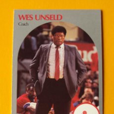 Coleccionismo deportivo: WES UNSELD 331 NBA HOOPS 90 1990 1990-91 90-91 91 COACH WASHINGTON BULLETS TRADING CARD. Lote 192192413