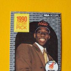 Coleccionismo deportivo: WILLIE BURTON 398 NBA HOOPS 90 1990 1990-91 90-91 91 MIAMI HEAT TRADING CARD. Lote 192200356