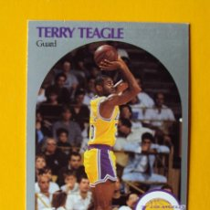 Coleccionismo deportivo: TERRY TEAGLE 416 NBA HOOPS 90 1990 1990-91 90-91 91 LOS ANGELES LAKERS TRADING CARD. Lote 192200403
