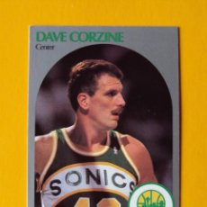 Coleccionismo deportivo: DAVE CORZINE 436 NBA HOOPS 90 1990 1990-91 90-91 91 SEATTLE SUPERSONICS TRADING CARD. Lote 192200530