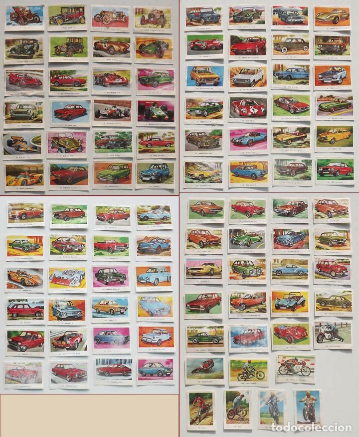 99 CROMOS DIFERENTES, AUTOMÓVILES EDITORIAL MAGA 1972, DESPEGADOS. SUELTOS DESDE 0,75 € (Coleccionismo Deportivo - Cromos otros Deportes)
