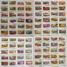 Coleccionismo deportivo: 99 CROMOS DIFERENTES, AUTOMÓVILES EDITORIAL MAGA 1972, DESPEGADOS. SUELTOS DESDE 0,75 €. Lote 194010786
