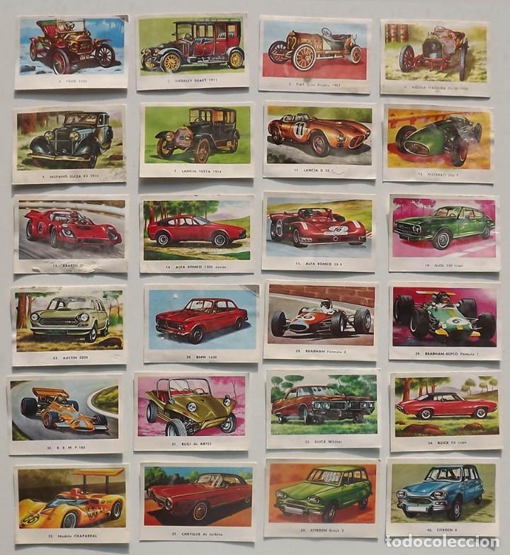 Coleccionismo deportivo: 99 cromos diferentes, Automóviles Editorial Maga 1972, despegados. Sueltos desde 0,75 € - Foto 2 - 194010786