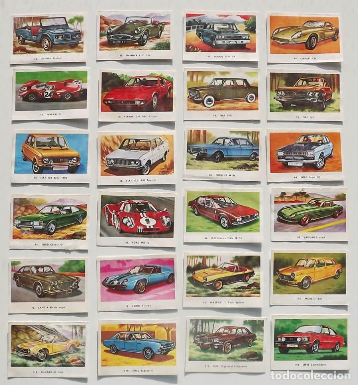 Coleccionismo deportivo: 99 cromos diferentes, Automóviles Editorial Maga 1972, despegados. Sueltos desde 0,75 € - Foto 3 - 194010786