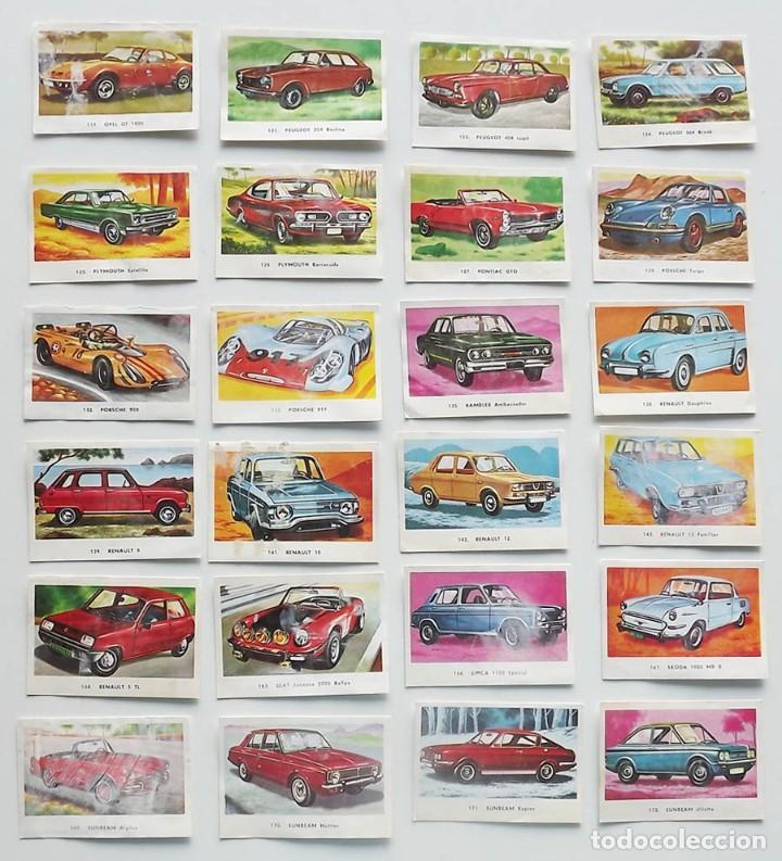 Coleccionismo deportivo: 99 cromos diferentes, Automóviles Editorial Maga 1972, despegados. Sueltos desde 0,75 € - Foto 4 - 194010786