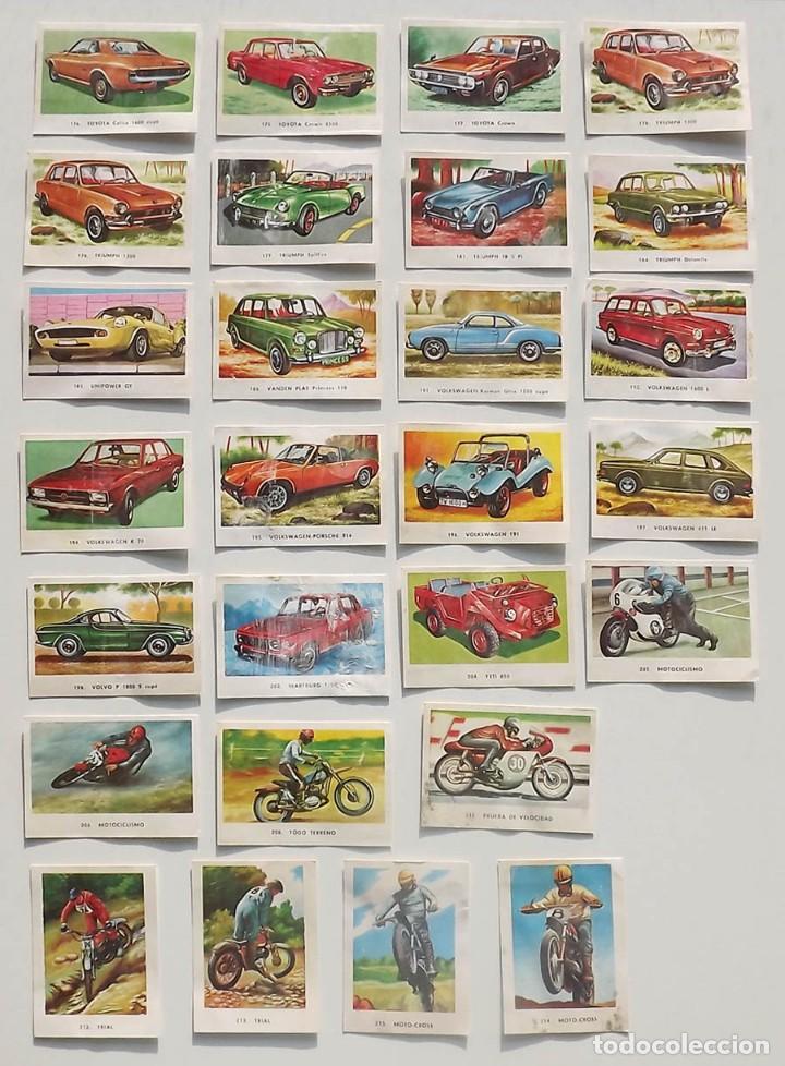 Coleccionismo deportivo: 99 cromos diferentes, Automóviles Editorial Maga 1972, despegados. Sueltos desde 0,75 € - Foto 5 - 194010786