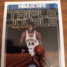 Coleccionismo deportivo: OSCAR ROBERTSON 1 NBA PANINI HOOPS 2017-18 TRIPLE DOUBLE CINCINATTI ROYALS. Lote 194519003