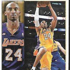 Coleccionismo deportivo: CROMO DE LA NBA STIKER DE 2013/14 KOBE BRYANT. Lote 194519555