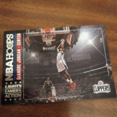 Coleccionismo deportivo: DEANDRE JORDAN 8 NBA PANINI HOOPS 2017-18 LIGHTS CAMERA ACTION LOS ANGELES CLIPPERS. Lote 194519677