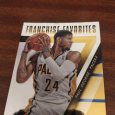 Coleccionismo deportivo: PAUL GEORGE 12 NBA PANINI PRESTIGE 2014-15 FRANCHISE FAVORITES INDIANA PACERS. Lote 194519873