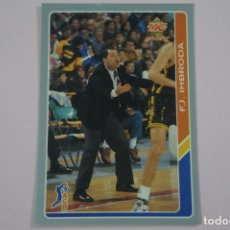 Coleccionismo deportivo: CROMO CARD DE BALONCESTO F.J. IMBRODA DEL UNICAJA Nº 119 LIGA ACB 95 DE MUNDICROMO SPORT. Lote 269968323