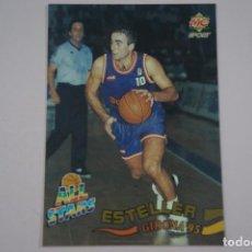 Coleccionismo deportivo: CROMO CARD DE BALONCESTO ESTELLER JUGADAS ALL STARS Nº 217 LIGA ACB 96 MUNDICROMO SPORT. Lote 194575878