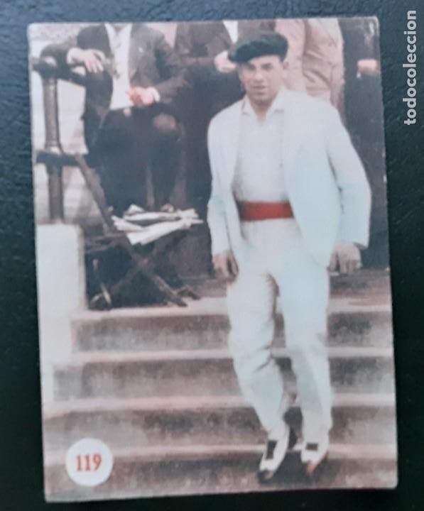 PAULINO UZCUDUN, ESCENAS DEPORTIVAS DE TODO EL MUNDO N⁰ 119 FHER 1953 (Coleccionismo Deportivo - Cromos otros Deportes)