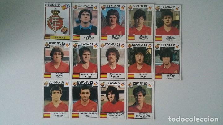 Coleccionismo deportivo: PANINI CROMOS MUNDIAL ESPAÑA 1982 82 ELEGIR FALTAS (SIN PEGAR) - Foto 3 - 194650060